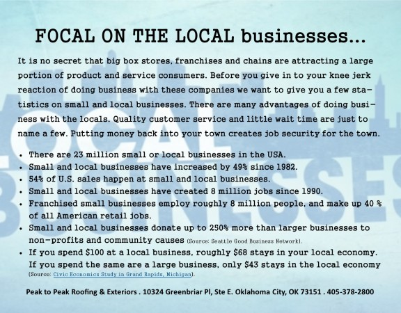 Focal On The Local Businessesu2026 Peak To ...