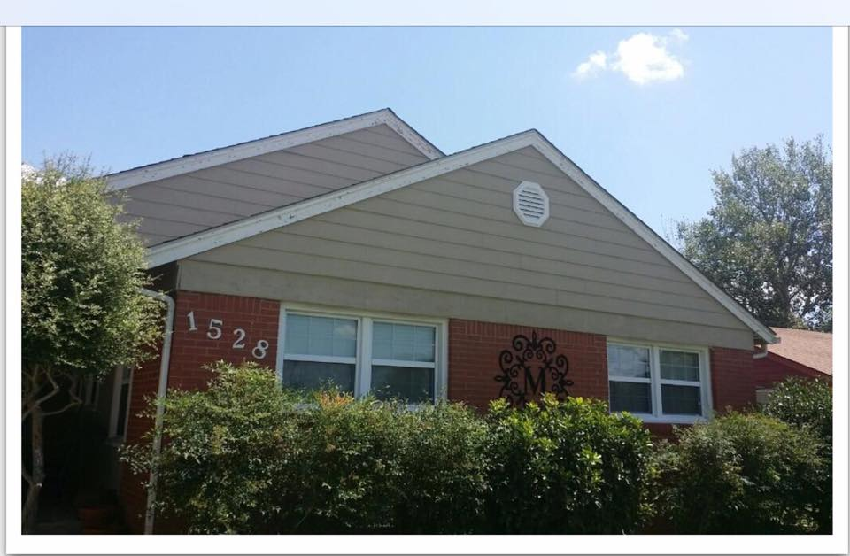 Peak To Peak Completed This Project With Paint And New Roof With Tamko  30year Shingle In The Color Weathered Wood.